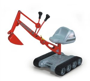 Spielzeugbagger zum selberfahren